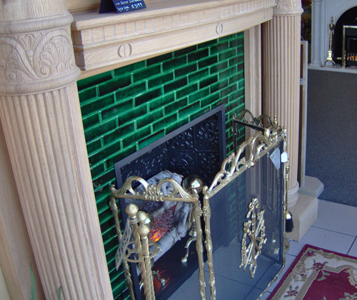 Vintage Style Fireplace Tiles Victorian Fireplace